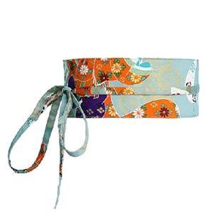 NWT Light Blue Japanese Obi Corset Belt